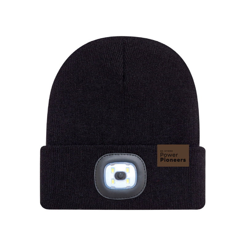 Cuff Toque with LED Light
