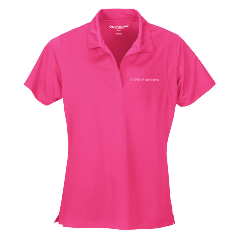 Coal Harbour® Snag Resistant Ladies Polo Shirt - Pink Raspberry