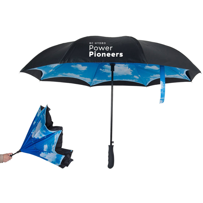 Peerless Inverted Clouds Umbrella - 48″ arc