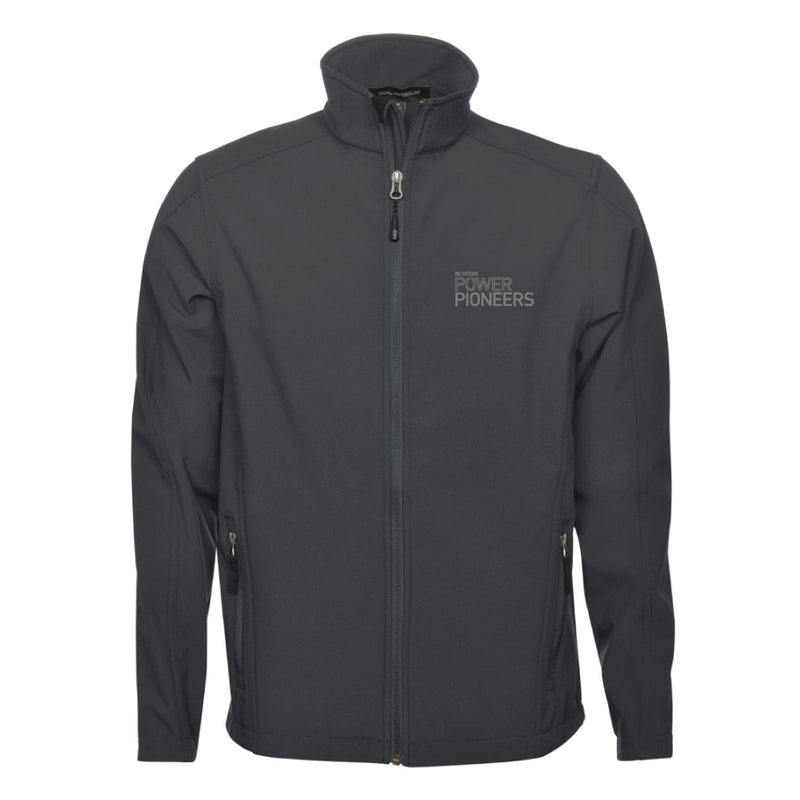 Coal Harbour® Men's Everyday Soft Shell Jacket - Graphite (Vintage Logo)