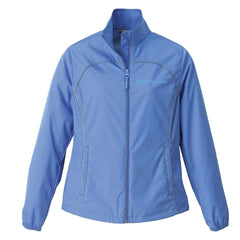 North End® Women's Lightweight Recycled Polyester Jacket (Vintage Logo)