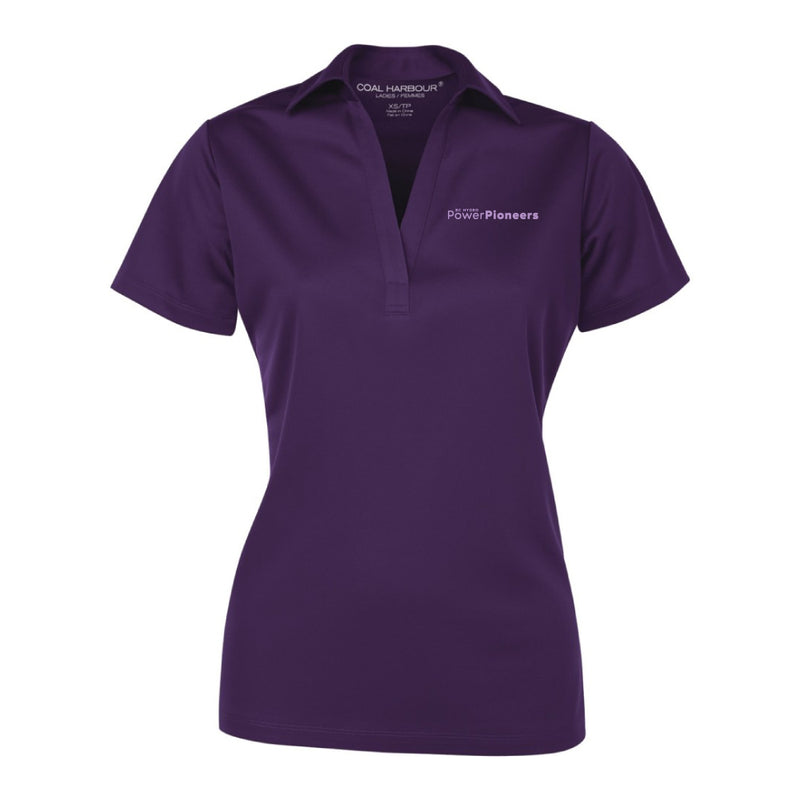 Coal Harbour® Snag Resistant Ladies Polo Shirt - Purple