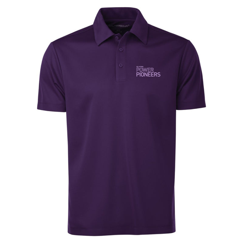 Coal Harbour® Snag Resistant Polo Shirt - Purple (Vintage Logo)