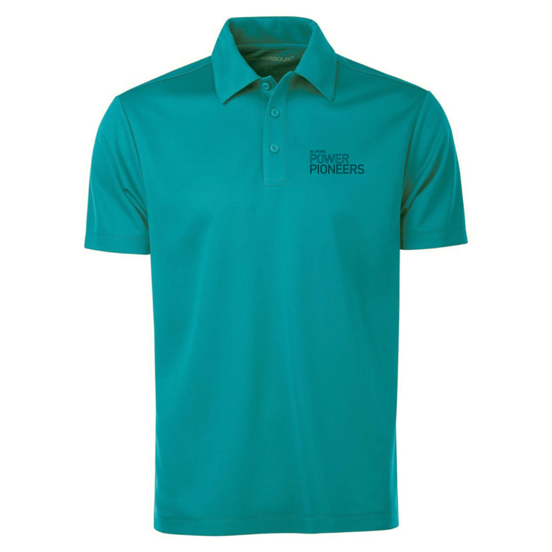 Coal Harbour® Snag Resistant Polo Shirt - Teal (Vintage Logo)