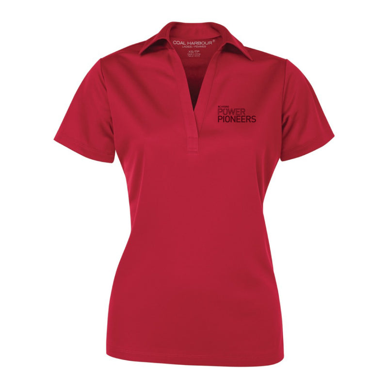 Coal Harbour® Snag Resistant Ladies Polo Shirt - Red (Vintage Logo)