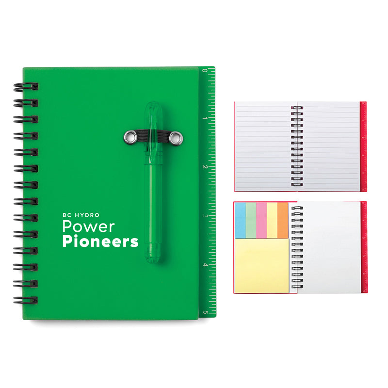 All-In-One Mini Notebook Set - Green