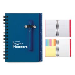 All-In-One Mini Notebook Set - Navy Blue