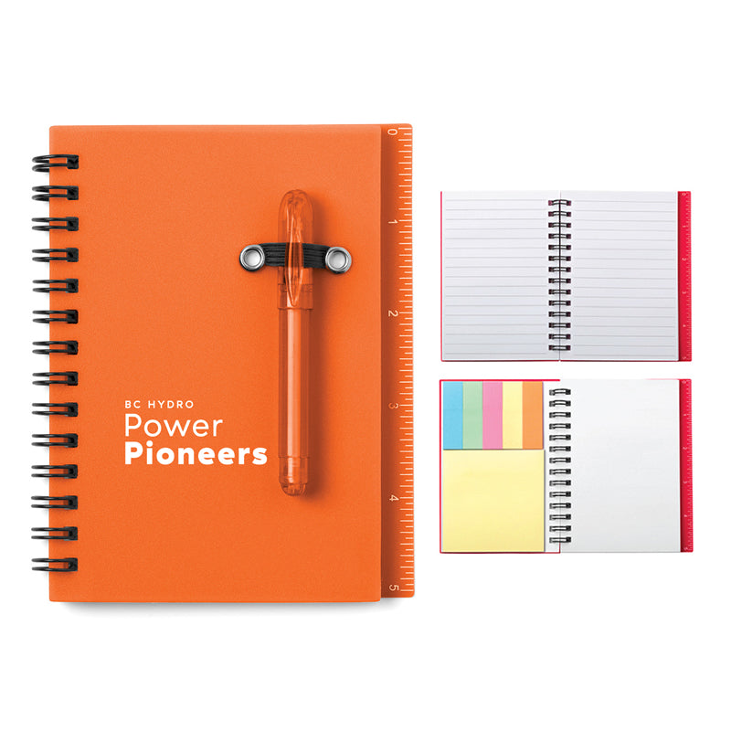 All-In-One Mini Notebook Set - Orange