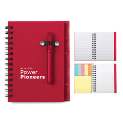 All-In-One Mini Notebook Set - Red
