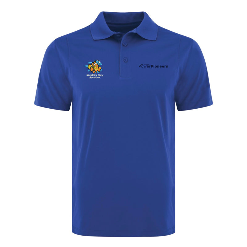 Coal Harbour® Snag Resistant Polo Shirt - Royal (Aquarium Team)