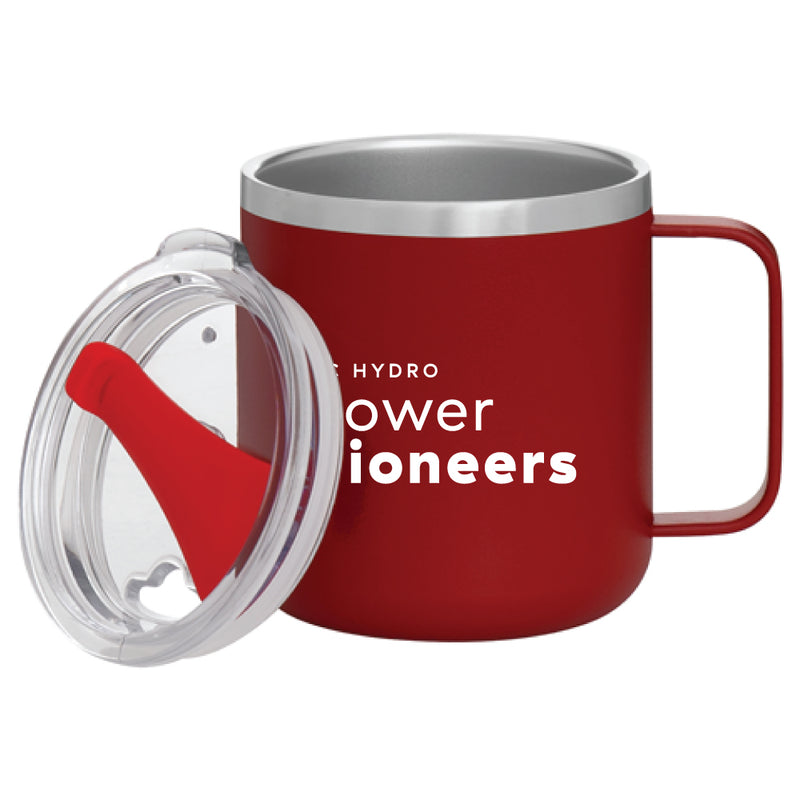 Camper 12 oz. Thermal Mug - Matte Red