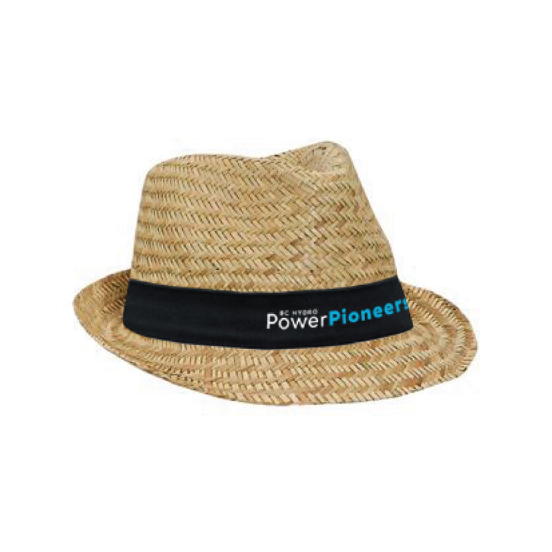 OTTO® Natural Straw Fedora