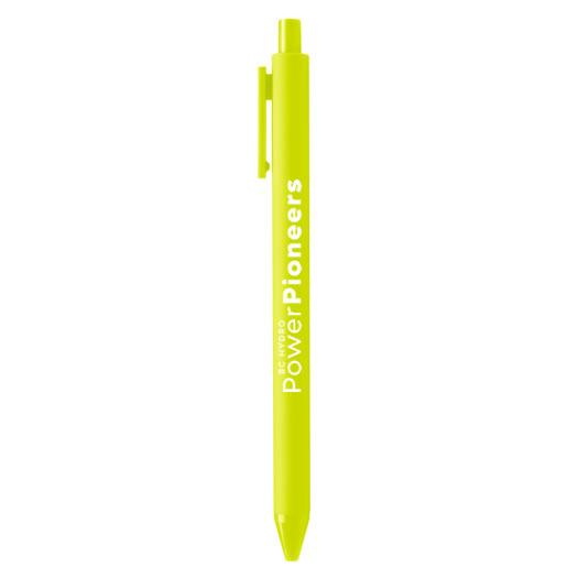 Soft Touch Pen - Citron w/Citron Ink