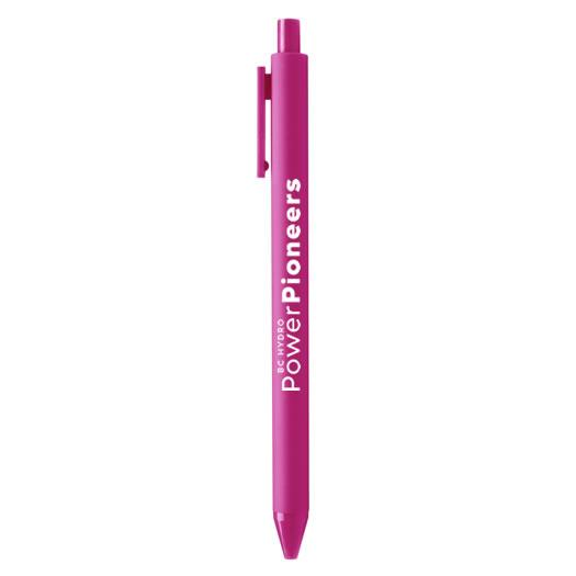 Soft Touch Pen - Pink w/Pink Ink