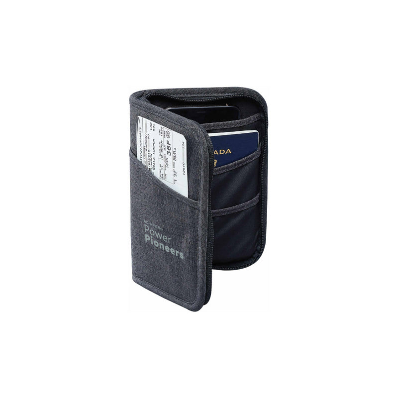 Stormtech™ Cupertino RFID Passport Wallet - Graphite/Black