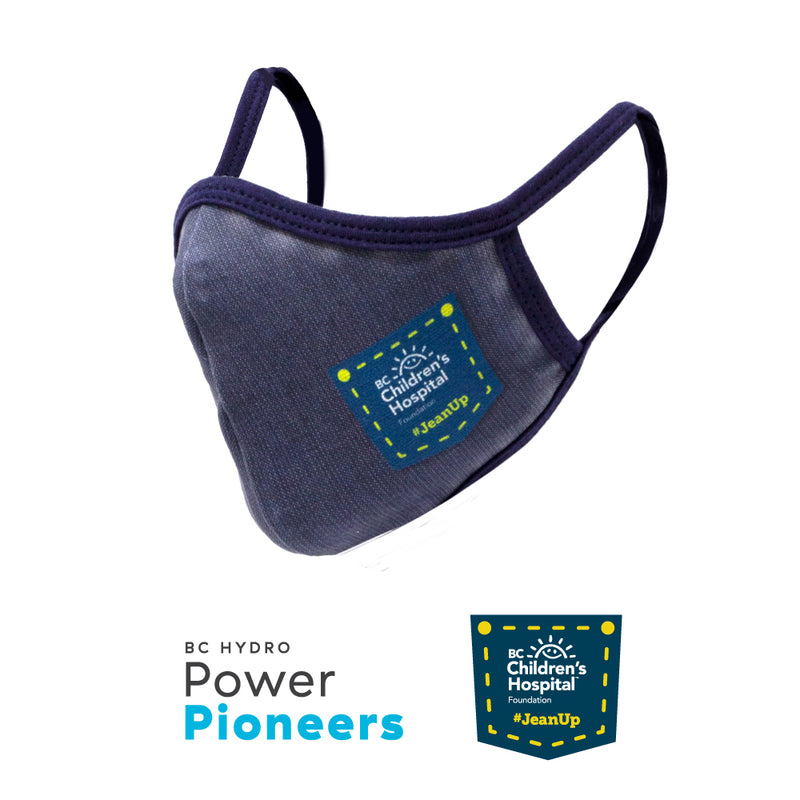 Power Pioneers & BC Children's Hospital Face Mask - Jean Up