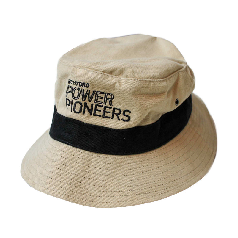 Heavy Weight Brushed Cotton Bucket Hat (Vintage Logo)