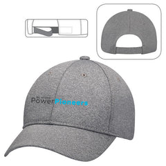 Polyester Heather Adjustable Hat