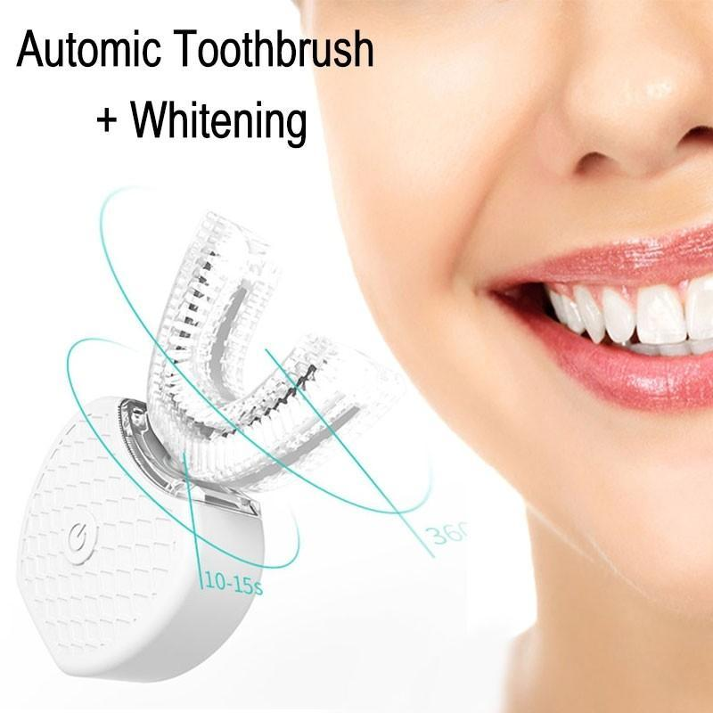 360° Automatic Whitening Sonic Toothbrush(1 Set)