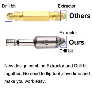 【60% OFF Discount For Limited Time】Screw Extractor Remover