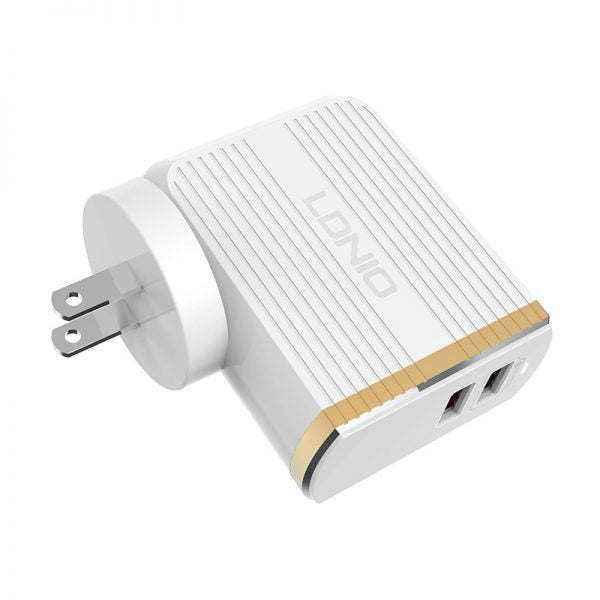 LDNIO A2502Q 2-USB Output 3.0 Quick Charge Adapter Charger - Maricelonlinestore