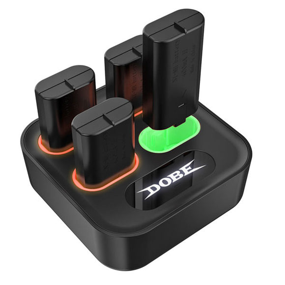 DOBE Controller Charger with Batteries For XBox One