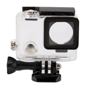 Telesin Waterproof Case for GoPro Hero 3/3+, Hero 4 Cameras