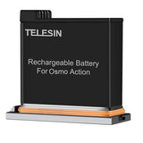 Telesin Rechargeable Battery for DJI Osmo Action Camera - Maricelonlinestore
