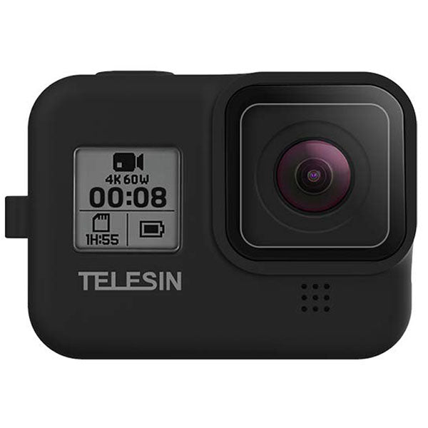 Telesin Silicone Camera Case for GoPro Hero 8 Action Camera - Maricelonlinestore