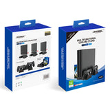DOBE Multifunctional Cooling Stand + Gamepad Charger for PS4