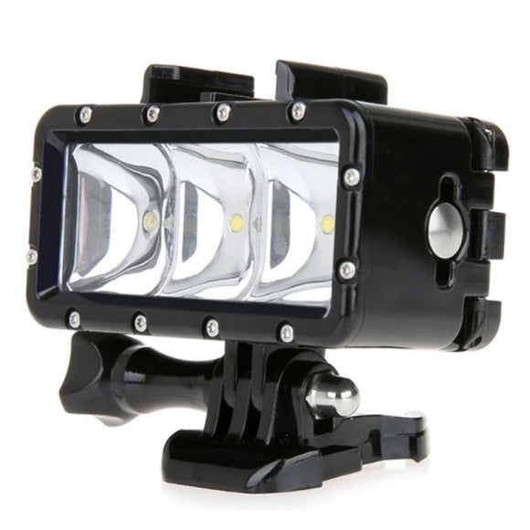 SupTig Underwater Video LED Light for Action Cameras
