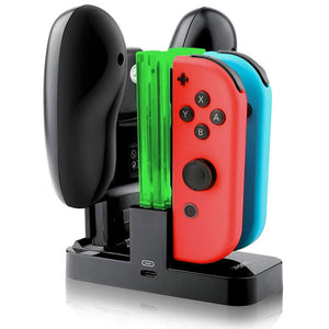 DOBE Charging Dock for Nintendo Switch Pro Controller and Joy-Con