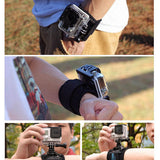 Telesin Elastic Harness Wrist Strap for Action Cameras