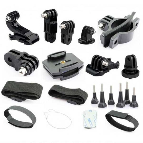 Sports DV Fitting Bicycle and Helmet Mounting Kit for Cameras