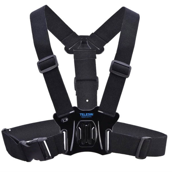 Telesin Chest Elastic Harness Belt Strap for Action Cameras - Maricelonlinestore