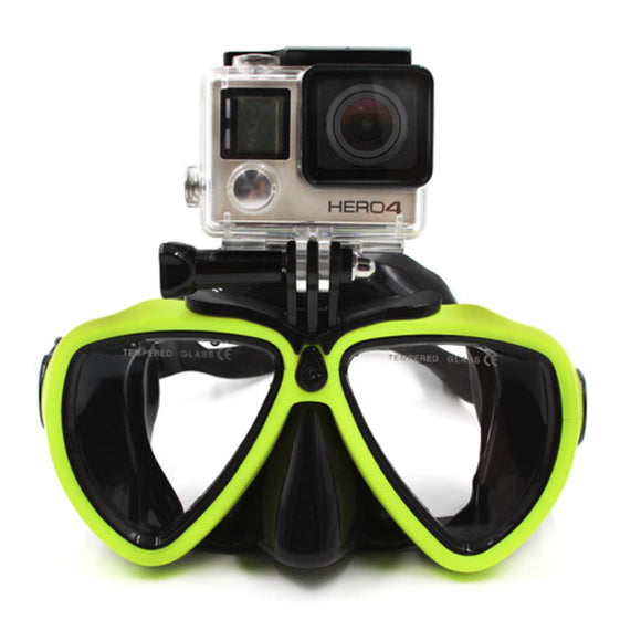 Telesin Diving Mask with Camera Mount - Maricelonlinestore