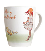 Alice In Wonderland Bamboo Mugs Set A (Set of 2)