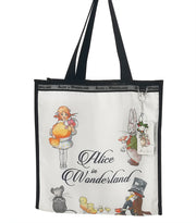 Alice In Wonderland Canvas Multi-Use Tote Bag - Alice in Wonderland