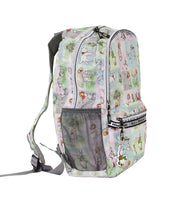 Alice In Wonderland Foldable Backpack - Alice Watercolor Stories