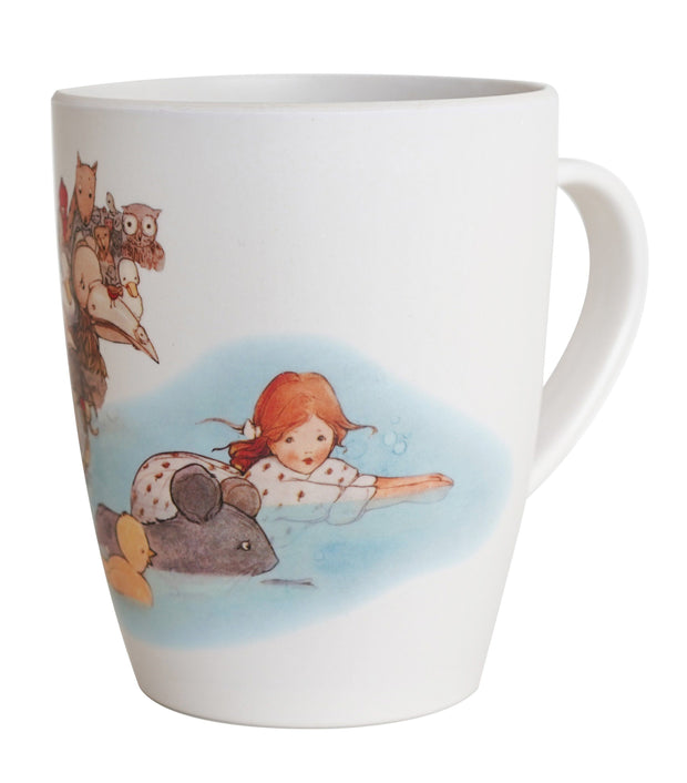 Eco Bamboo - Alice In Wonderland Bamboo Mugs Set A (Set Of 2)  | Young Spirit Australia