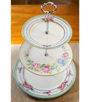 Cake Stand - Fine Bone China Floral Cake Stand