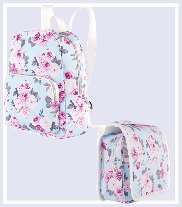 Women's Gift Set - Icy Rose Mini Backpack & Toiletry Bag Gift Set  | Young Spirit Australia