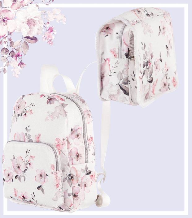 Women's Gift Set - Water Floral Mini Backpack & Toiletry Bag Gift Set  | Young Spirit Australia