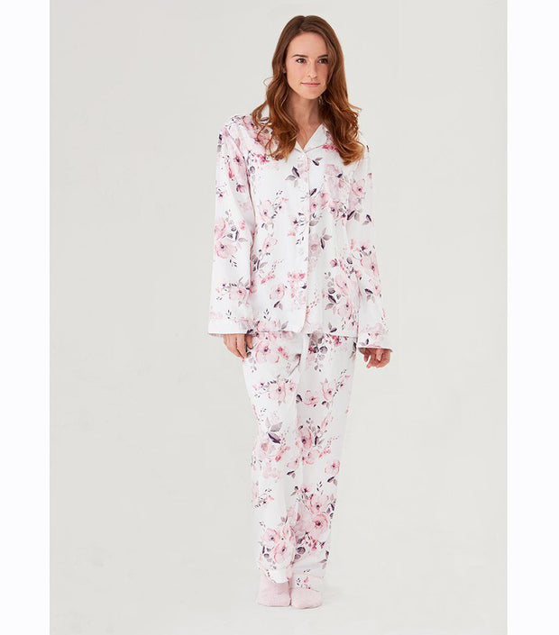 Women's PJ Sets - Water Floral Pyjama Sleep Set Women's Nighties  | Young Spirit Australia