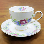 Teacup & Saucer - Fine Bone China Floral Cup & Saucer Set | Young Spirit Australia