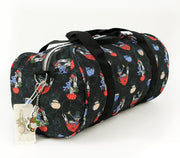 Travel Bag - Alice In Wonderland Canvas Carry On Duffle Bag - The Mad Hatter | Young Spirit Australia