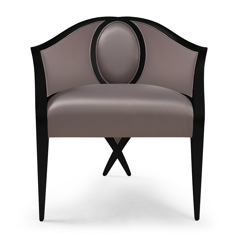 Cambré Dining Chair Fully Upholstered