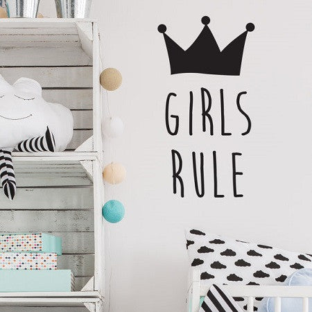 Wall Stickers Girls Rule