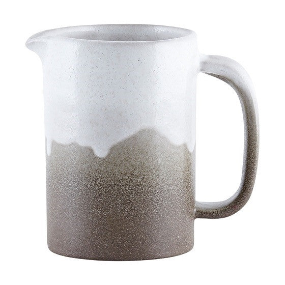 House Doctor, White, Running Glaze Jug