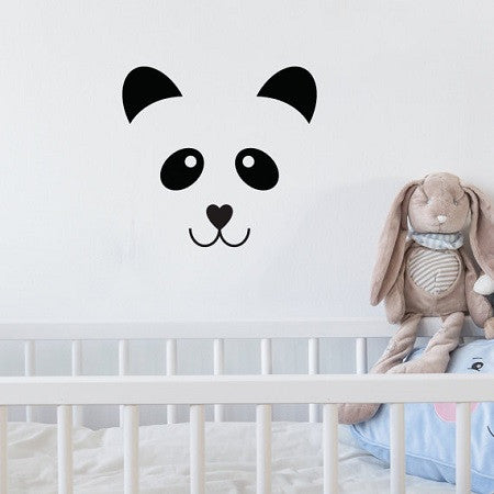Wall Sticker Panda Face